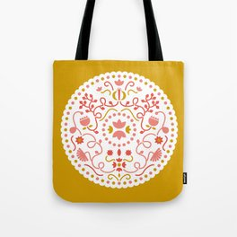mustard illustration Tote Bag