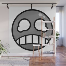 Scared Gray! Wall Mural