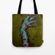 Zombie Arm Tote Bag