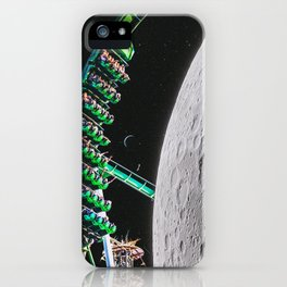 Space Coaster iPhone Case