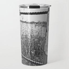 No Crabbing (B&W) Travel Mug