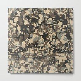 Camouflage (Digital) : TM17053 Metal Print