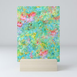 Tropical Waters Abstract #sabidussi #buyartprints #society6 #decor Mini Art Print