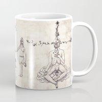 tarot Mugs featuring Tarot: IV - The Emperor by Jæn ∞