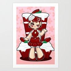 Red Velvet Art Print