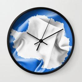 Antarctica Flag Wall Clock