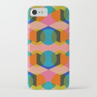 60s iPhone & iPod Cases featuring Geometric 60s by Lilly Marfy