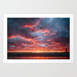 This Is Home | Muskegon, MI Art Print
