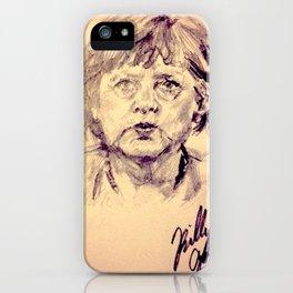 Angela Merkel iPhone Case