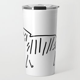 zebra Africa Travel Mug