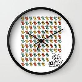 101 dalmartians Wall Clock