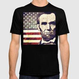 Patriot President Abraham Lincoln T-shirt