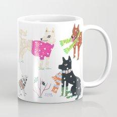 Winter Jindos Mug