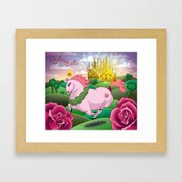 horsey Framed Art Print