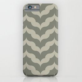 Juliet in Khaki and Gray iPhone Case