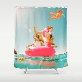 VINTAGE SUMMER Shower Curtain
