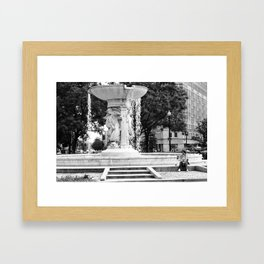 D.C. Fountain Framed Art Print