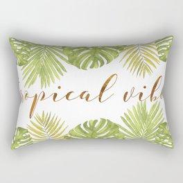 Tropical Vibes - Palms Rectangular Pillow