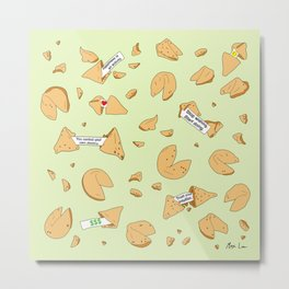 Fortune Cookies Metal Print