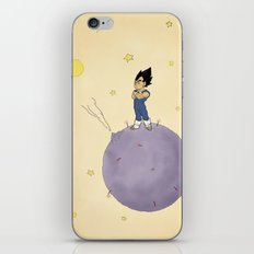 The Little Prince Of Saiyans iPhone & iPod Skin