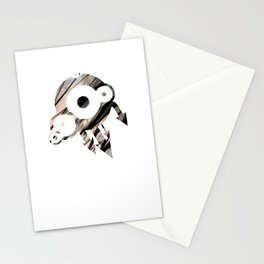 Metal 4 Stationery Cards