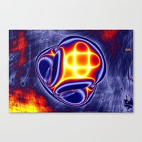 ufo Canvas Prints featuring ufo by donphil