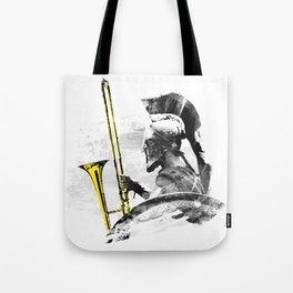 Trombone Warrior Tote Bag