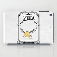 legend of zelda iPad Cases featuring Zelda legend - Navi by Art & Be