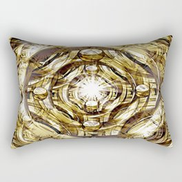 In Hadron Collider. Rectangular Pillow