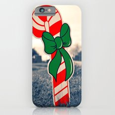 Christmas candy cane Slim Case iPhone 6s