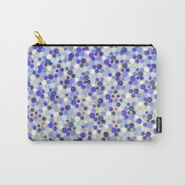 Blue disks Carry-All Pouch