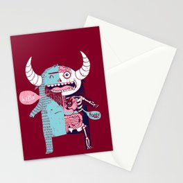 All Monsters are the Same Stationery Cards