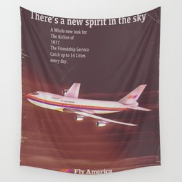 1977 Airliner poster Wall Tapestry