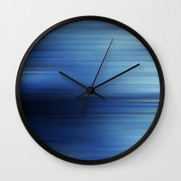 Bleu Comme L'enfer Wall Clock