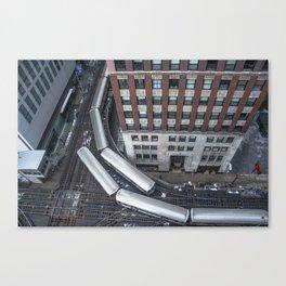 'L'evated Train Canvas Print