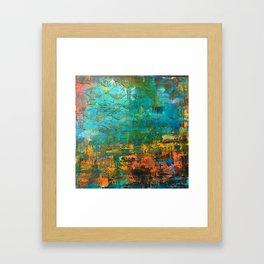 Upside down, inside out Framed Art Print