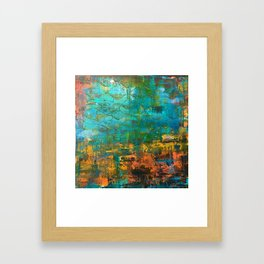 Upside down, inside out Framed Art Print