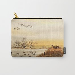 Hunting Pintail Ducks Carry-All Pouch