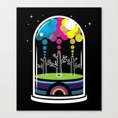 Toy City Canvas Print