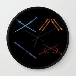 TMNT Wall Clock