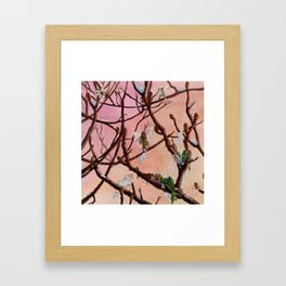 Springtime Fairies Framed Art Print
