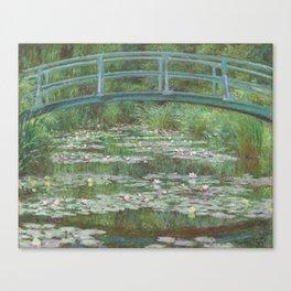 Claude Monet The Japanese Footbridge 1899 Painting Canvas Print