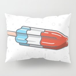 The Summer Bomb Pop Pillow Sham