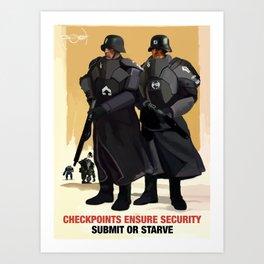 Sporto Propaganda III Art Print