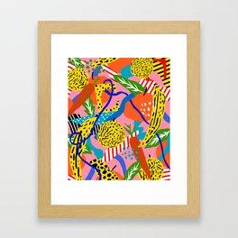 eat better Framed Art Print