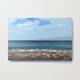 Longing for the beach... Metal Print