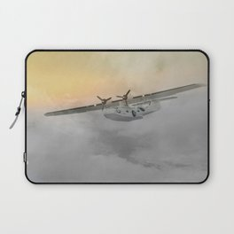 """Flying boat"" Laptop Sleeve"
