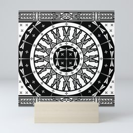Ancestors (Blk White) Mini Art Print
