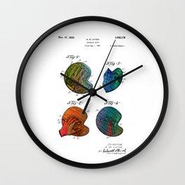 Patent drawing of a Baseball Mitt - Circa 1925 Wall Clock