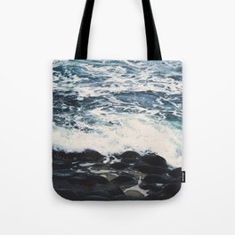 Rocky Sea Shore Tote Bag